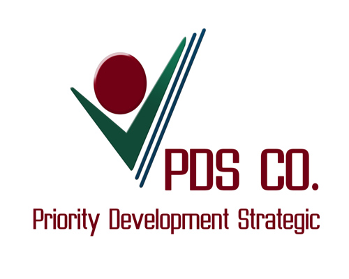 Logo Development | Priority Development Strategic Company | PDSC