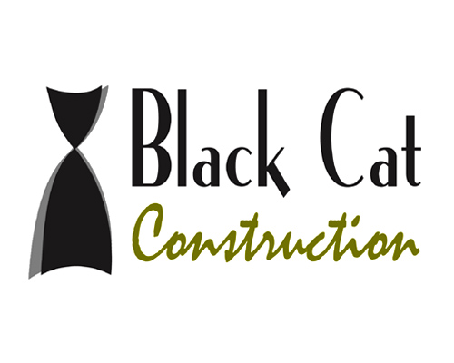 Logo Development | Black Cat Construction Company