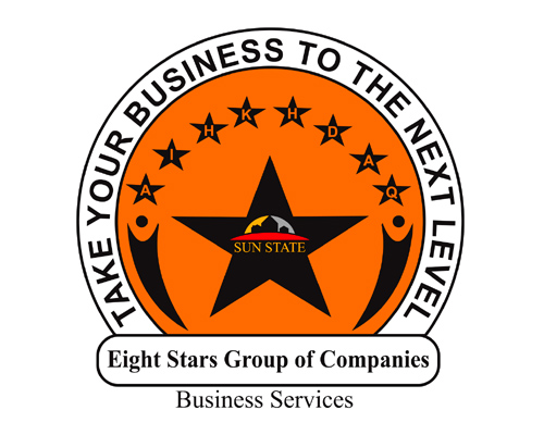 Logo Development | Eight Stars Group of Company