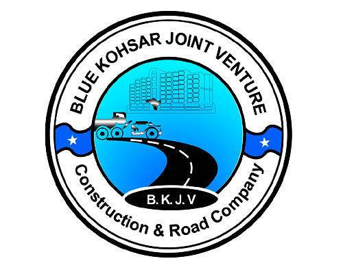 Logo Development | Blue Kohsar Joint Venture - Construction & Road Co.